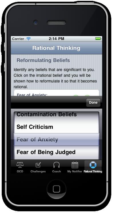 OCD Therapy Treatment Program app store